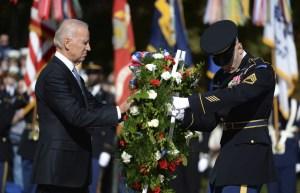 """Biden subraya la """"sagrada obligación"""" de EE.UU. con los veteranos de guerra"""