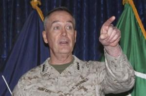 General Dunford considera a Rusia la mayor amenaza para EEUU