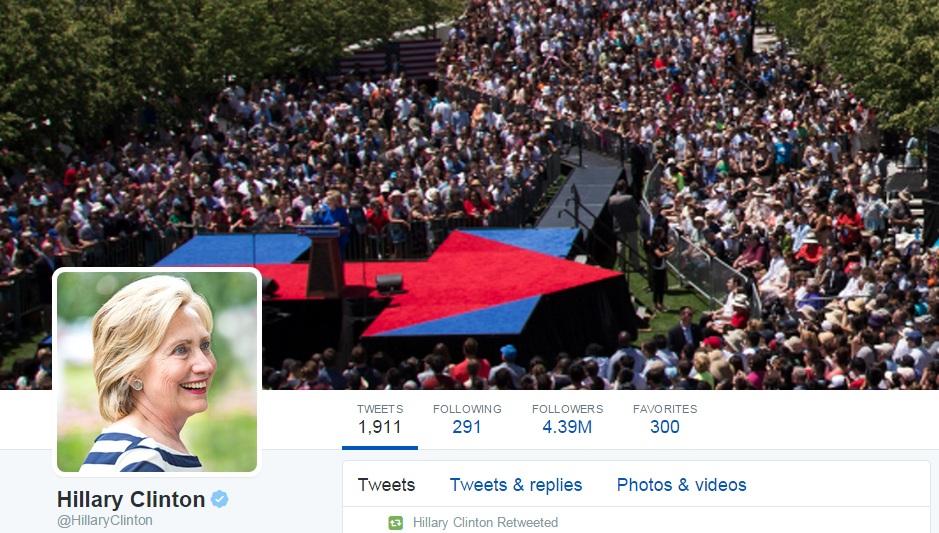 ¿Qué hacen los candidatos en Twitter?