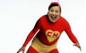 Hoy las risas van por cuenta de la abuela Hillary Clinton (fotos)