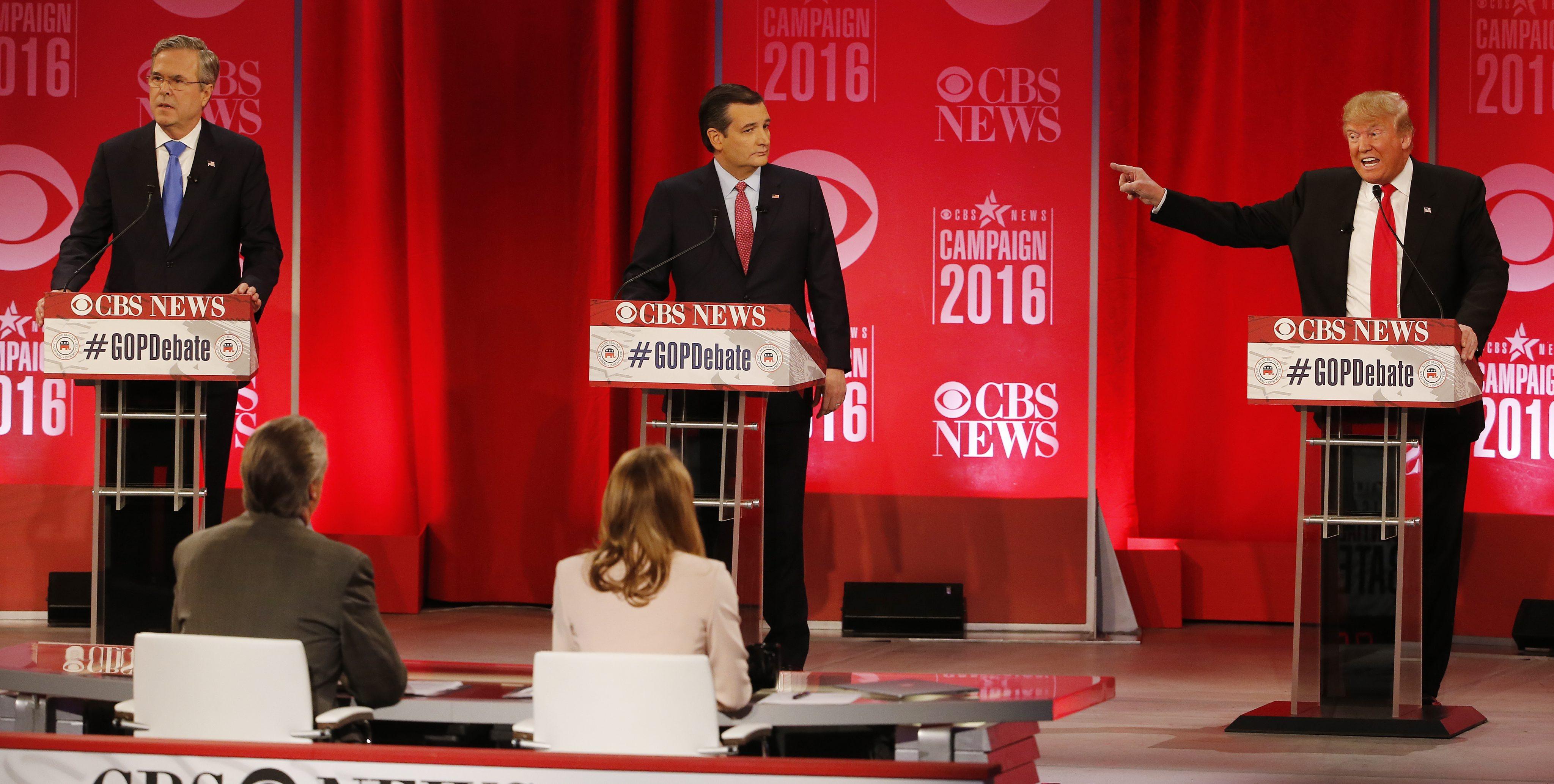 VIDEO: Discusión explosiva sobre inmigración en debate republicano
