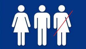 Conservadores celebran fin de política de baños transgénero