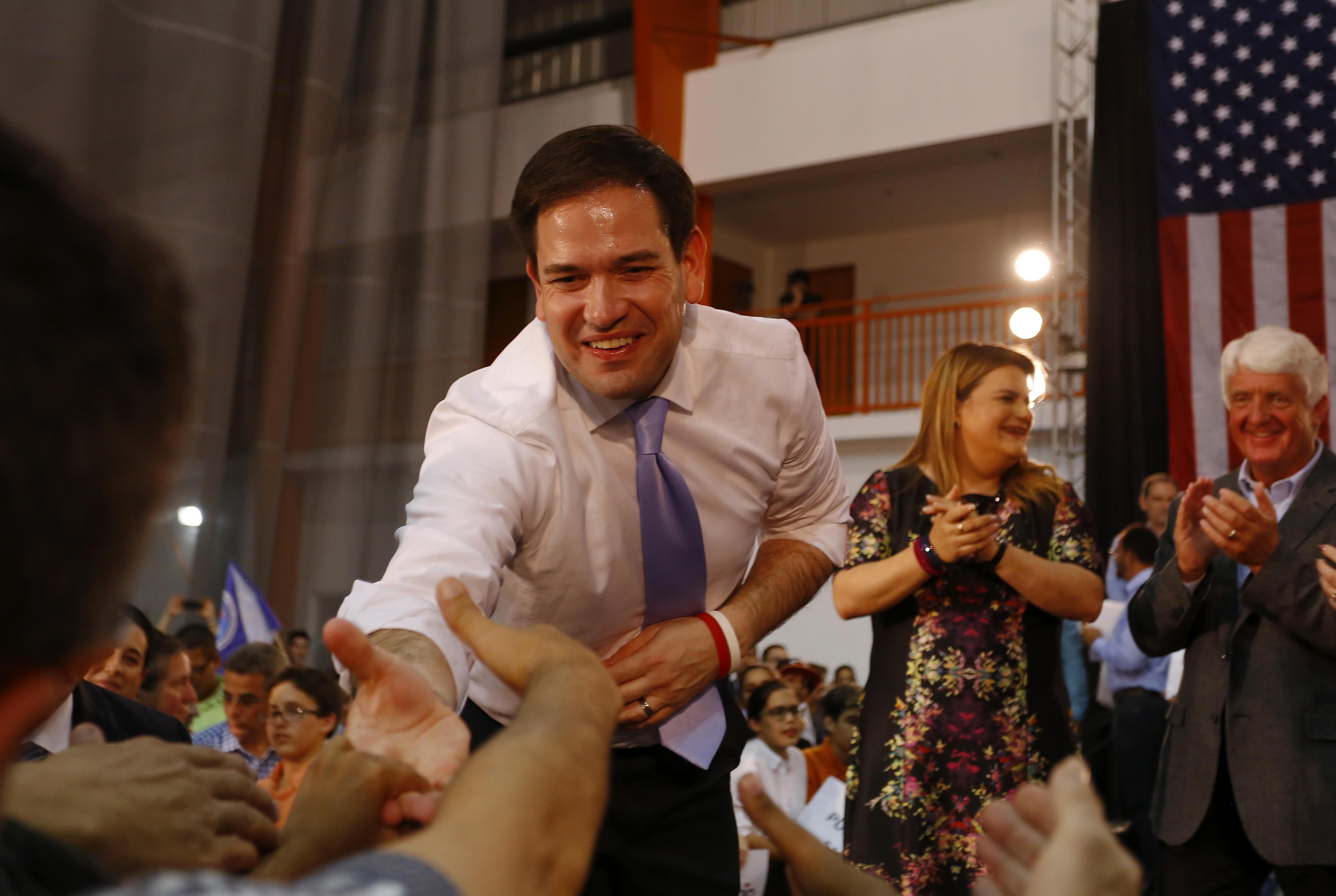 Marco Rubio y Ros-Lehtinen ganan las primarias en Florida