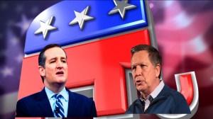 Cruz y Kasich se alían para tratar de frenar a Trump en las próximas primarias