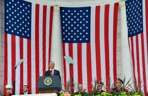 """VIDEO: Obama dice que caídos en guerra representan """"lo mejor"""" de EE.UU."""