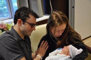 EN FOTOS: El nuevo nieto de Bill y Hillary Clinton