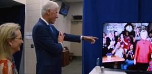 VIDEO: Lo que ocurrió tras bastidores en la convención demócrata