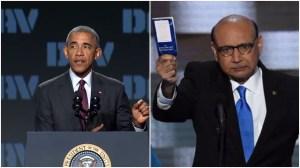 Obama a Trump: Familias de soldados muertos representan lo mejor de EE.UU.