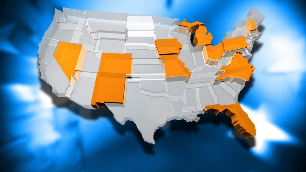 ¿Quién ganará las elecciones? Eso se decidirá en 11 estados