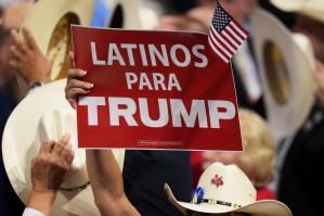 Verificando: ¿serán los latinos quienes ayuden a Trump a reelegirse?