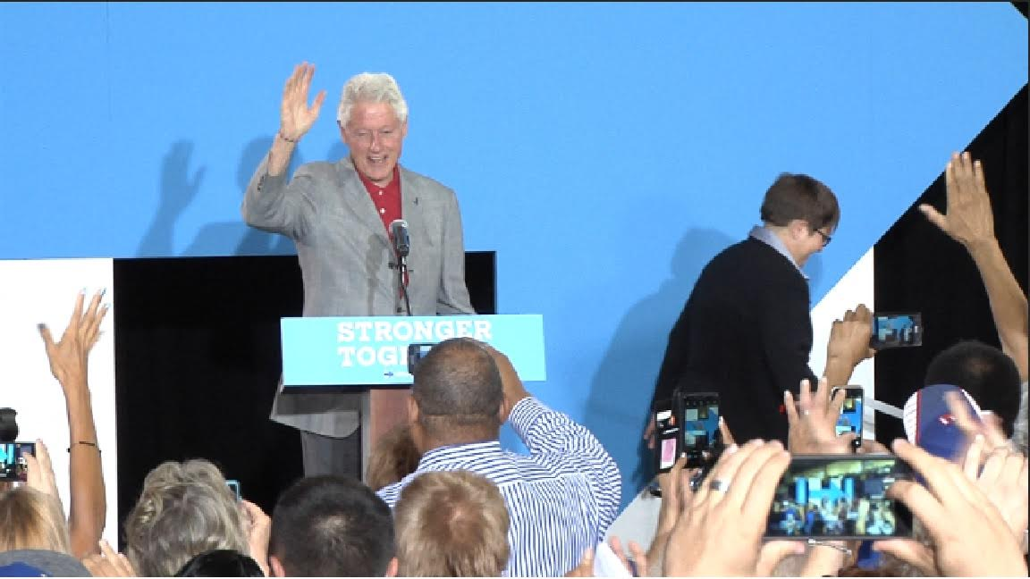 Bill Clinton asegura que Hillary regresará mañana a su campaña