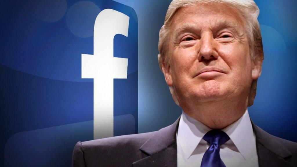 """2,000 anuncios en Facebook de Trump hablan de """"invasión"""" en la frontera"""
