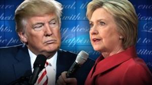 Los polos opuestos de la política exterior entre Clinton y Trump