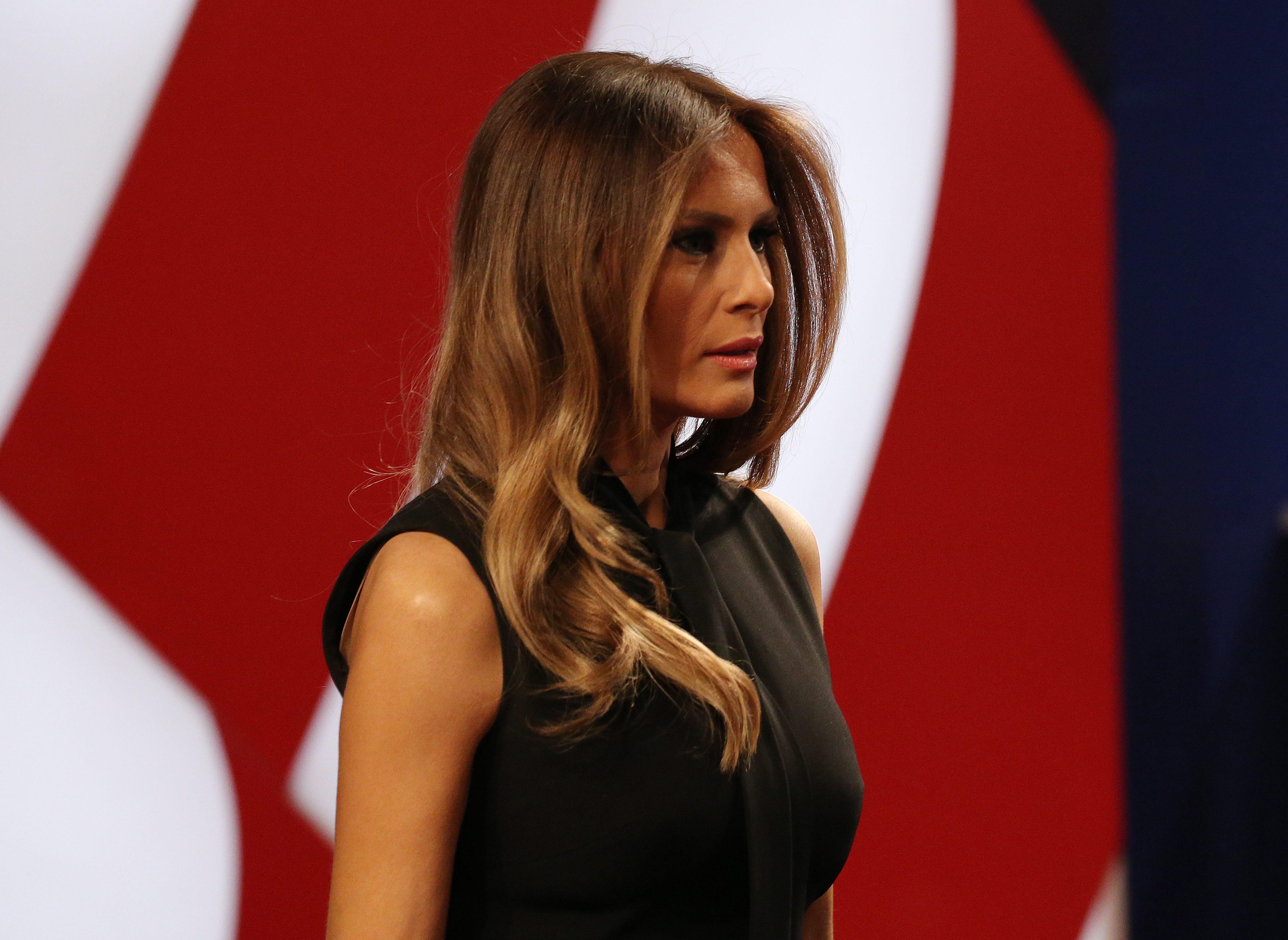 "Melania Trump emigró con exclusiva ""Visa Einstein"" siendo modelo"