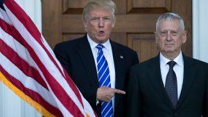 Trump elige a militar de línea dura para dirigir al Pentágono