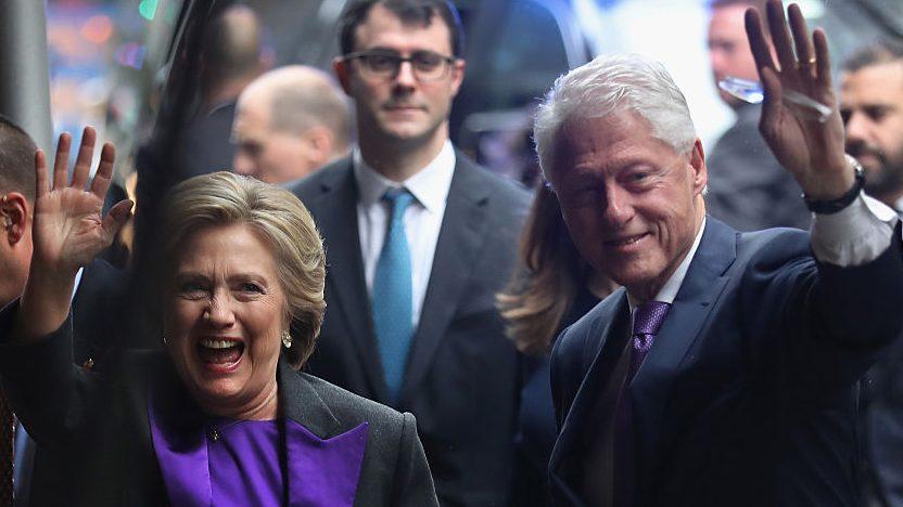 Bill y Hillary Clinton asistirán a toma de posesión de Trump
