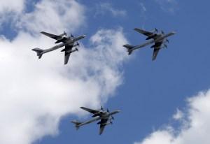 Interceptan bombarderos rusos cerca de Alaska por segunda vez en un día