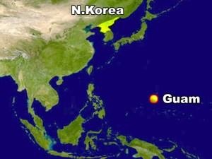 Corea del Norte analiza atacar territorio estadounidense de Guam