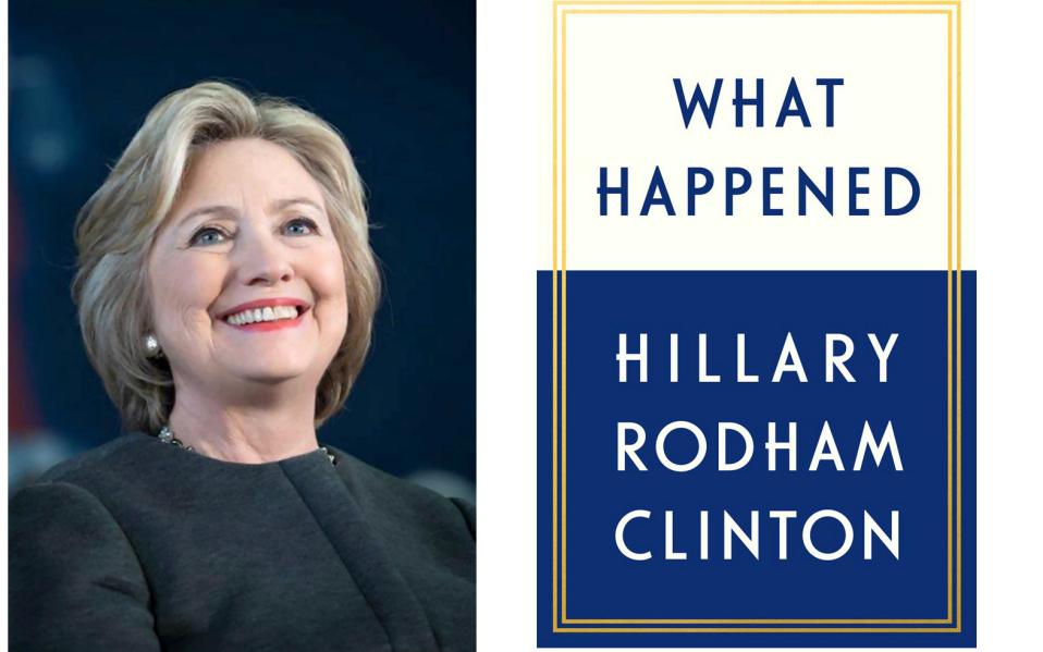 Trump presume que sabe el final del libro de Hillary Clinton