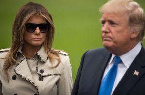 ¿Dónde está la verdadera Melania Trump?