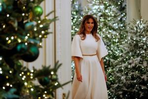 Melania Trump devela sus meses de trabajo en decoración navideña