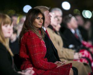 Ocho momentos memorables de Melania Trump en 2017