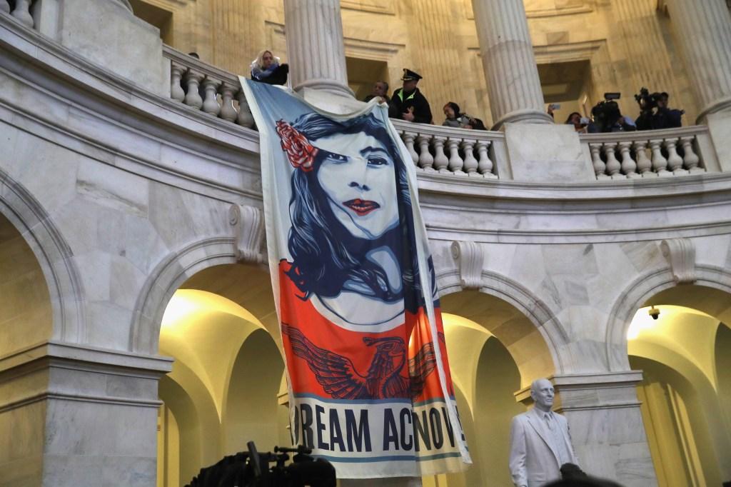Protesta por DACA en el Capitolio