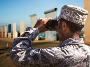 Militares en la frontera tienen autorización para disparar