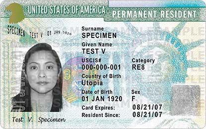 Green card USCIS