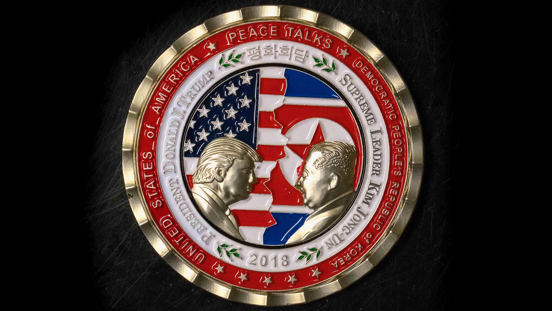 Casa Blanca rebaja monedas que celebran la Cumbre entre Trump y Kim