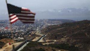 Bandera de EE.UU. frontera con México