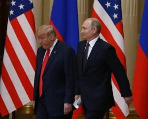 Cumbre en Helsinki de Donald Trump y Vladimir Putin