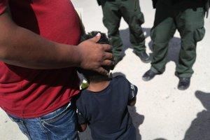 Separación de niños inmigr5antes