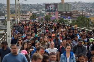 México rehúsa dar asilo a migrantes que se dirigen a EE.UU.