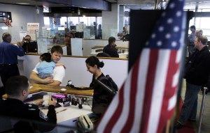 Inmigración, aeropuerto, ee.uu.