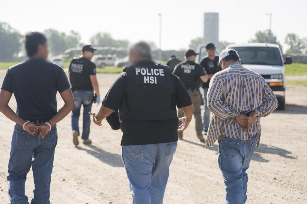 Arresto de ICE