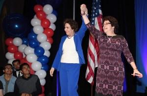 Jacky Rosen celebra su triunfo electoral en Nevada