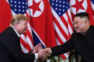 Donald Trump y Kim Jong Un se reúnen por segunda vez