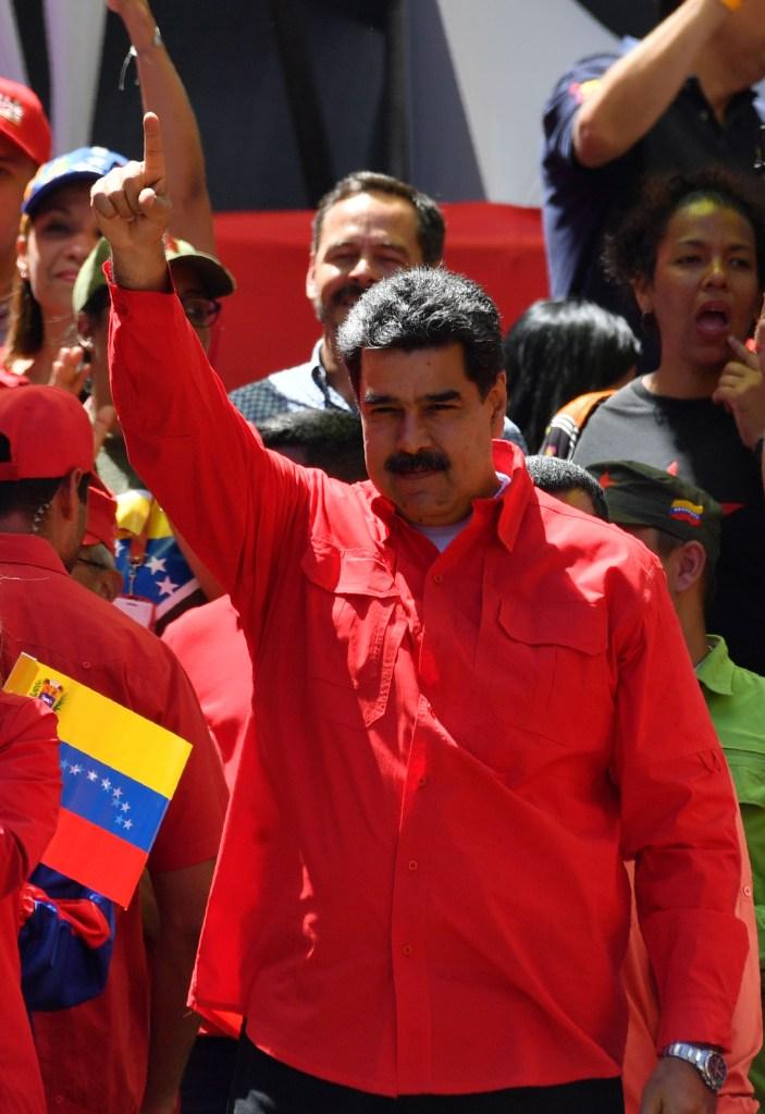 EE.UU. acusa a Nicolás Maduro de tráfico de drogas