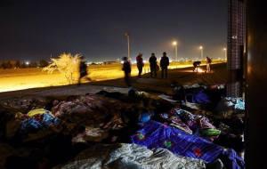 migrantes en El Paso