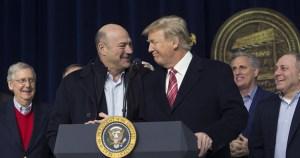 Gary Cohn: Recorte al Seguro Social será suicidio político para Trump
