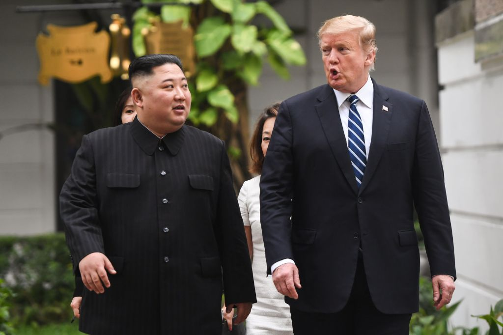 """Trump invitó al dictador Kim Jong Un a una reunión para """"decirle hola"""""""