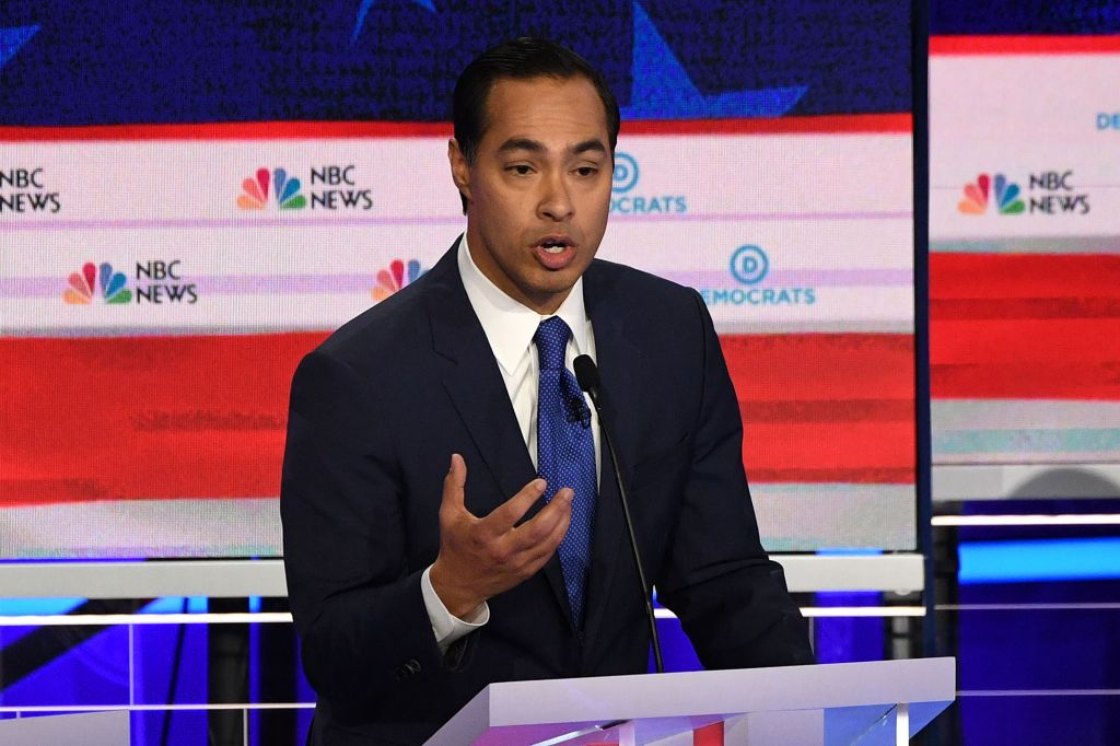 Julián Castro sobresale en primer debate presidencial demócrata