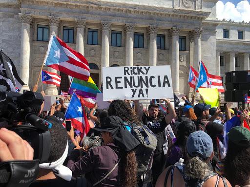 Trump fustiga al liderazgo de Puerto Rico en medio de las protestas
