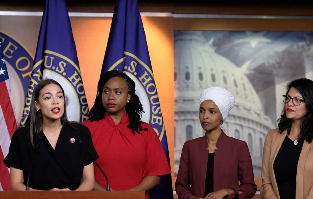 4 legisladoras de color atacadas por Trump condenan sus tuits racistas