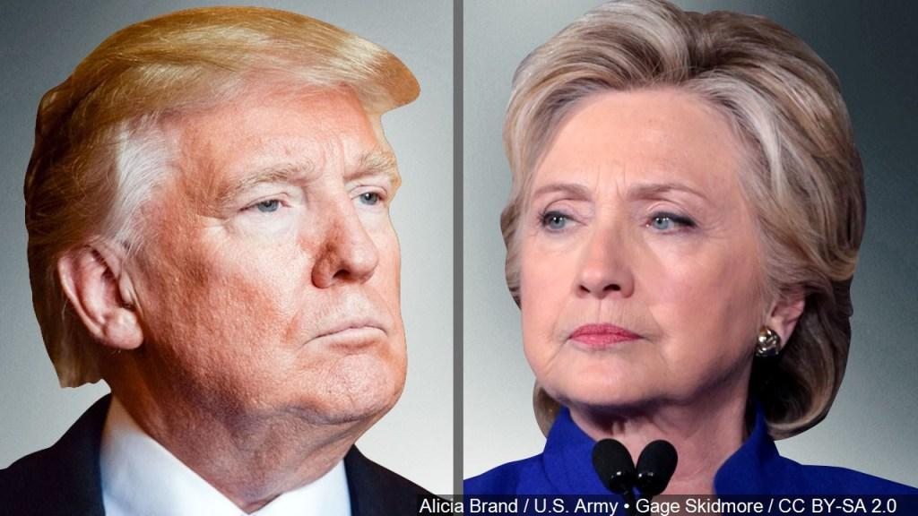 ¿Estamos en 2016? Hillary fustiga a Trump por denuncia sobre Google
