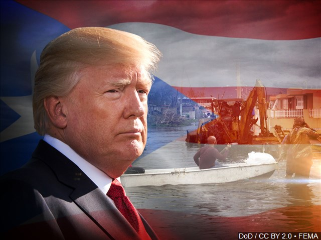 donald trump puerto rico