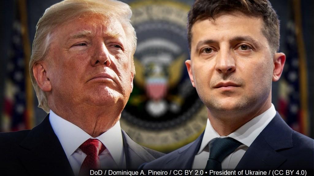 A pesar de transcripción,Trump niega haber presionado al líder de Ucrania