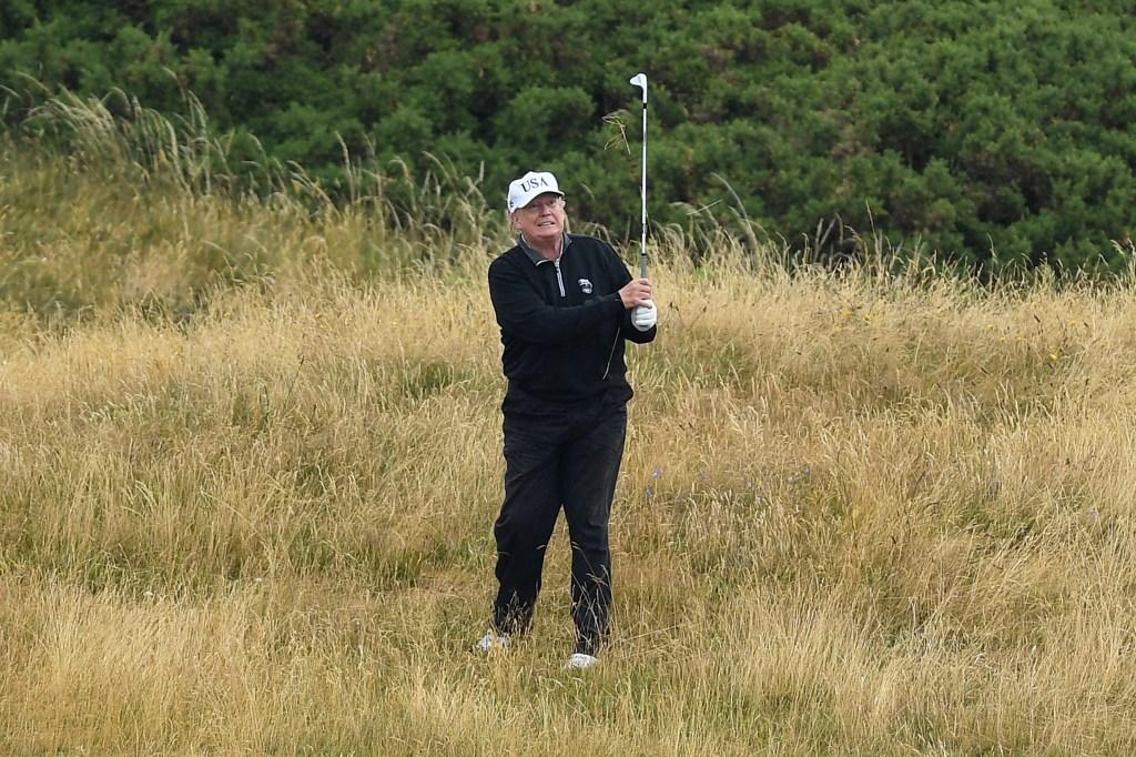 Ciudadanos pagarán más de $340 millones por viajes de golf de Trump