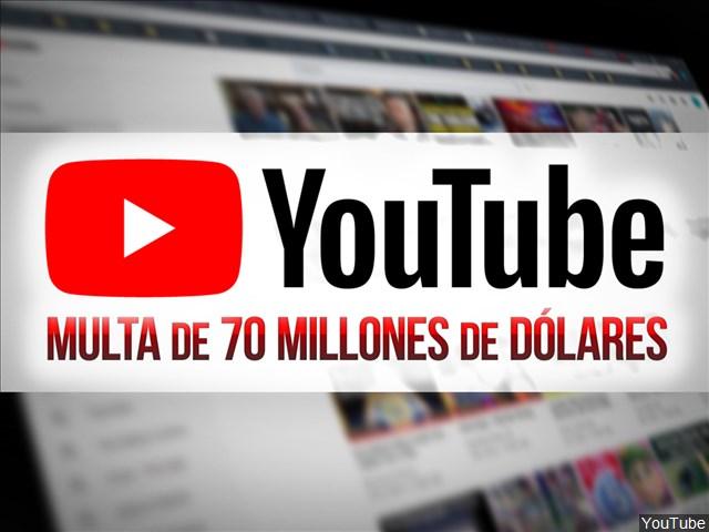 multa youtube
